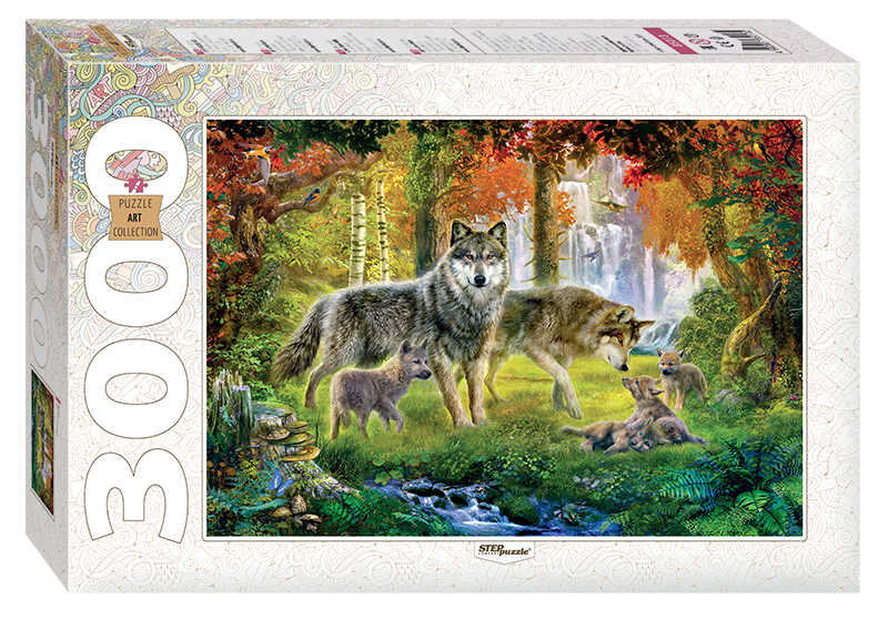 puzzle wolves step puzzle 85013 3000 pieces jigsaw puzzles wolves jigsaw puzzle. Black Bedroom Furniture Sets. Home Design Ideas