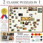 Sunsout-10160 Irv Brechner - Puzzle Combo: Animal Nursery