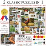 Sunsout-10168 Irv Brechner - Puzzle Combo: Farm & Country