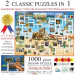 Sunsout-10170 Irv Brechner - Puzzle Combo: Going on Safari