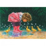 Puzzle  Sunsout-11208 Just Ducky