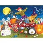 XXL Pieces - Halloween Puppies 300 piece jigsaw puzzle