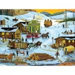 Puzzle  Sunsout-14089 XXL Pieces - Logging Camp