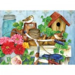Puzzle  Sunsout-16097 XXL Pieces - Jane Maday - The Old Garden Shed