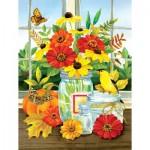 Puzzle  Sunsout-16099 XXL Pieces - Jane Maday - Autumn Jars