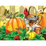 Puzzle  Sunsout-16115 XXL Pieces - October Garden