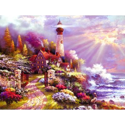 Puzzle Sunsout-18036 XXL Pieces - - Coastal Splendor