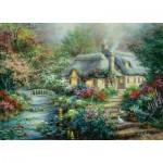 Puzzle  Sunsout-19152 XXL Pieces - Nicky Boehme - Little River Cottage