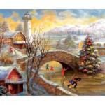 Puzzle  Sunsout-19168 Nicky Boehme - Joyous Season
