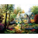 Puzzle  Sunsout-19206 XXL Pieces - Nicky Boehme - A Country Gem