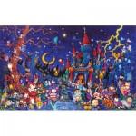 Puzzle  Sunsout-19415 XXL Pieces - Hideki Yoshioka - Spooky Night