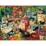 Puzzle  Sunsout-21898 XXL Pieces - Witchin' Kitchen