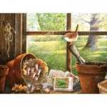 Puzzle  Sunsout-24631 XXL Pieces - Garden Shed Seedlings