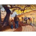 Puzzle  Sunsout-25221 Les Ray - Saving Up Memories