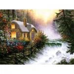Puzzle  Sunsout-26130 XXL Pieces - River's Edge