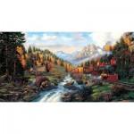 Puzzle  Sunsout-26213 XXL Pieces - Autumn Run