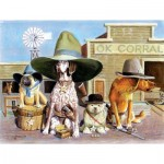 Puzzle  Sunsout-28011 XXL Pieces - OK Corral