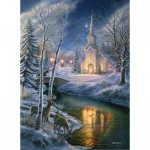Puzzle  Sunsout-28422 James Meger - O Holy Night