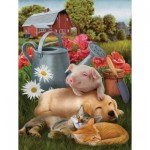 Puzzle  Sunsout-28549 XXL Pieces - Lazy in the Sun