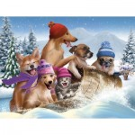 Puzzle  Sunsout-28695 XXL Pieces - Winter Fun