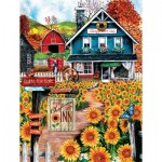 Puzzle  Sunsout-28715 XXL Pieces - Welcome to the Sunflower Inn