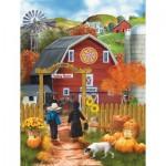 Puzzle  Sunsout-28755 XXL Pieces - Valley Farm