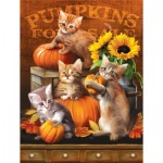 Puzzle  Sunsout-28762 XXL Pieces - Autumn Kitties