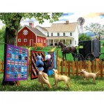 Puzzle  Sunsout-28769 XXL Pieces - Family Homestead