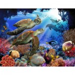 Puzzle  Sunsout-28804 XXL Pieces - Underwater Fantasy