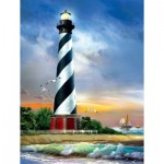 Puzzle  Sunsout-28835 XXL Pieces - Cape Hatteras Lighthouse