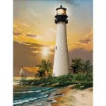Puzzle  Sunsout-28838 XXL Pieces - Cape Florida Lighthouse