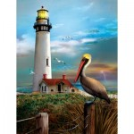 Puzzle  Sunsout-28847 XXL Pieces - Pigeon Point Lighthouse