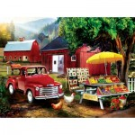 Puzzle  Sunsout-28872 Tom Wood - Country Produce