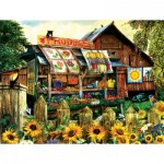 Puzzle  Sunsout-28880 Tom Wood - Home Grown