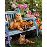 Puzzle  Sunsout-28894 Garden Hangout