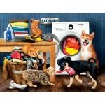 Puzzle  Sunsout-28930 XXL Pieces - Laundry Room Laughs
