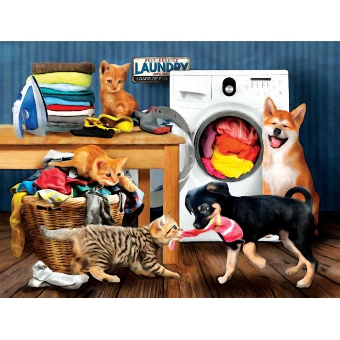XXL Pieces - Laundry Room Laughs
