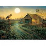 Puzzle  Sunsout-29017 Sam Timm - Late Summer's Eve