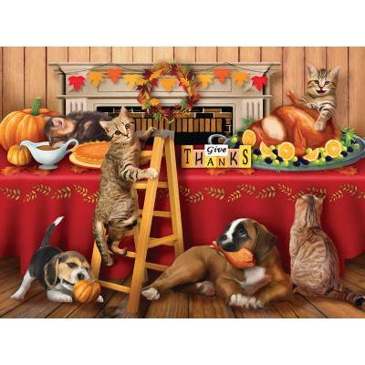 Puzzle Sunsout-29722 XXL Pieces - Tom Wood - Give Thanks