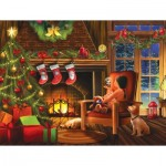 Puzzle  Sunsout-29738 XXL Pieces - Dreaming of Christmas