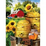Puzzle  Sunsout-29880 Tom Wood - Bee Farm