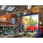 Puzzle  Sunsout-29903 XXL Pieces - Following in Dad's Footsteps