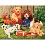 Puzzle  Sunsout-30403 XXL Pieces - Sports Fans
