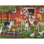 Puzzle  Sunsout-30410 XXL Pieces - Welcome the New Pony