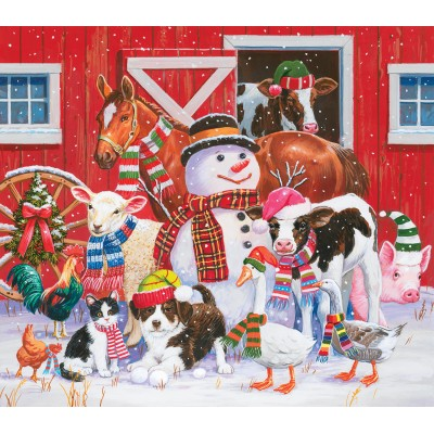 Puzzle Sunsout-30446 XXL Pieces - William Vanderdasson - Ready for Winter