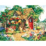 Puzzle  Sunsout-31354 XXL Pieces - Barbara Mock - Gardener's  Haven