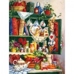 Puzzle  Sunsout-31377 XXL Pieces - Grandma's Cupboard