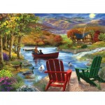 Puzzle  Sunsout-31421 XXL Pieces - Lake Life