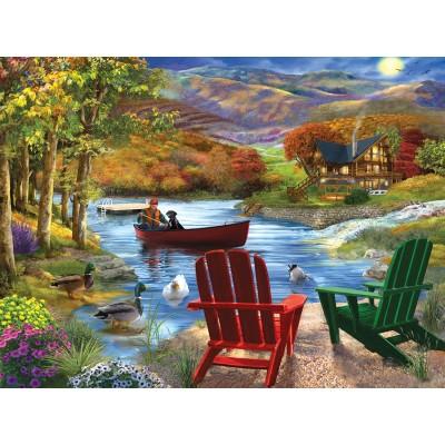 Puzzle Sunsout-31421 XXL Pieces - Lake Life