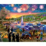 Puzzle  Sunsout-31546 XXL Pieces - Summer Fireworks